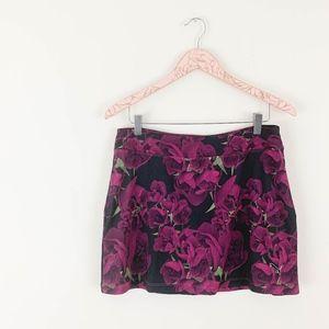 Puma Golf Skirt Medium Tulip Print Floral Pink
